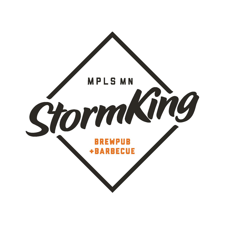 StormKing Brewpub + Barbecue Logo